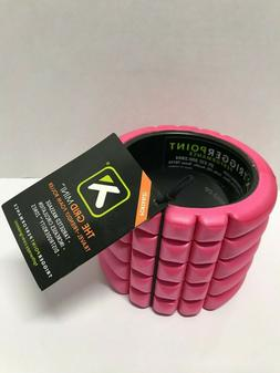 Trigger Point The Grid Mini Travel Foam Roller 5''-Pink