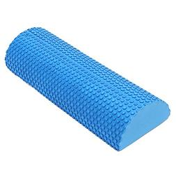Half-Round EVA Foam Roller with Trigger Points for Muscle Th