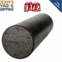 HIGH DENSITY FOAM ROLLER Back Pain Deep Massage Muscle Thera