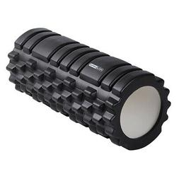 HolaHatha High Density Hollow EVA Foam Roller for Muscle Mas