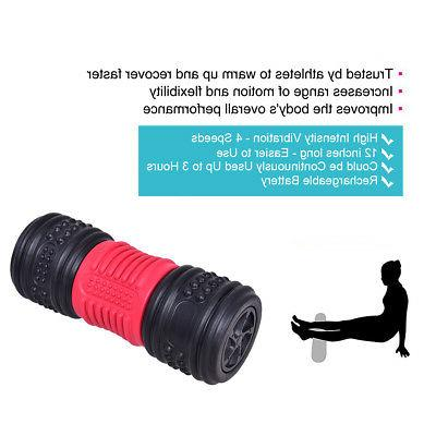 4 Electric Vibrating Massage Roller Muscle