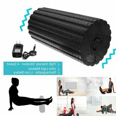 4-Speed Electric Yoga Massage Foam Muscle Recovery