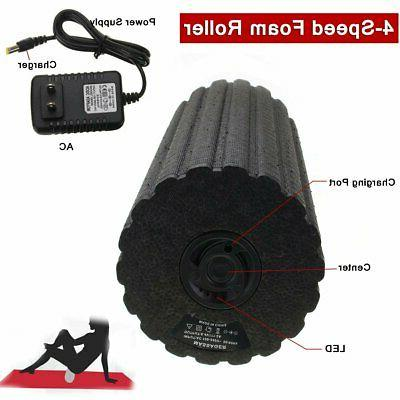 4-Speed Rechargeable Yoga Foam Muscle Recovery