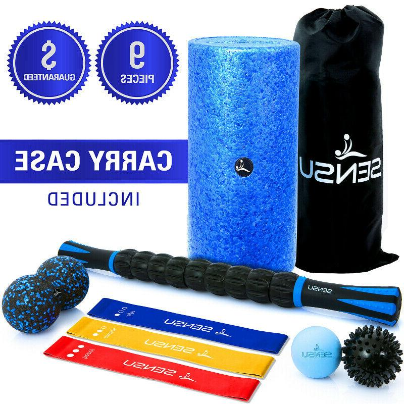 8 in 1 foam roller kit set