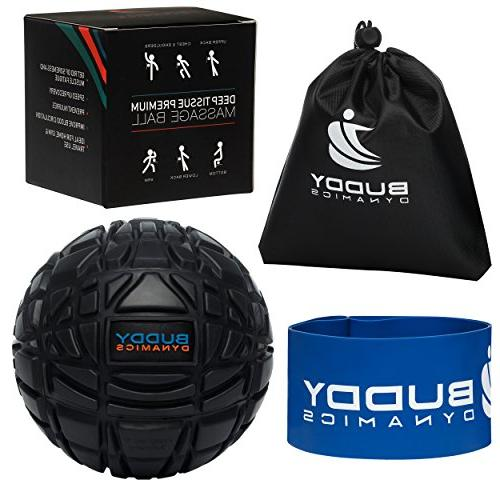 Massage Ball With Resistance Band - Deep Tissue, Trigger Poi
