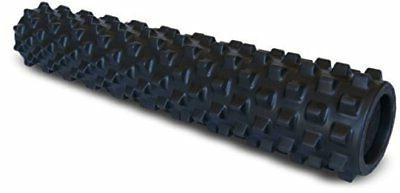 RumbleRoller - Full Size 31 Inches - Black - Extra Firm - Te