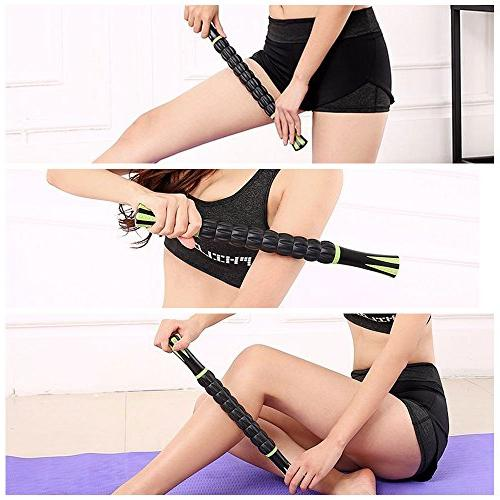 Sportneer Stick Back Calf Massage Tool for Muscle Soreness, Soothing
