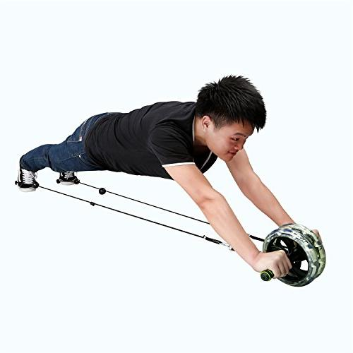 ENKEEO Roller Exercise Dual Easy Grip Core and Exercise