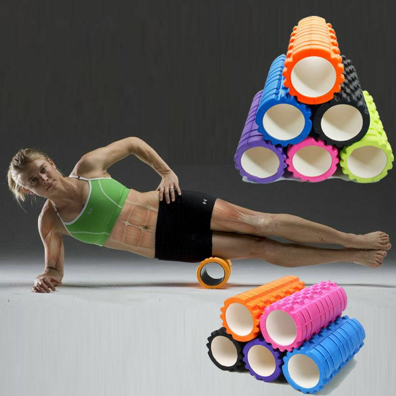 bam yoga fitness trigger foam roller high