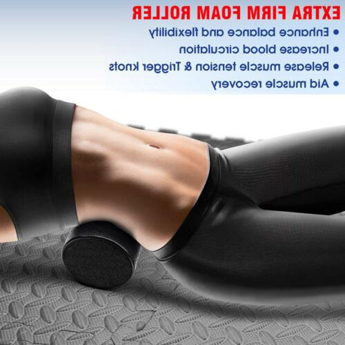 "High Density 12"" Foam Roller Massager Exercise Leg"