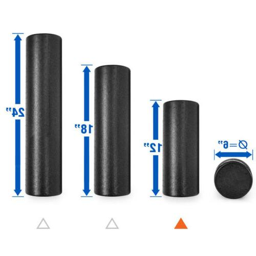 extra firm exercise gym yoga foam roller
