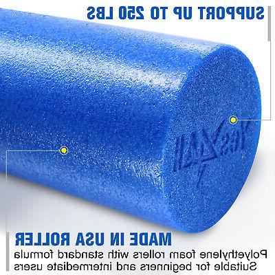 YES4ALL FOAM FIRM HIGH DENSITY BACK MUSCLE GYM BLUE