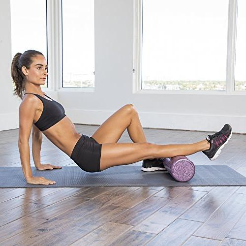 High Density Foam Rollers Fitness - Sports Rollers for Stretching, Therapy, Deep Myofascial - For Exercise
