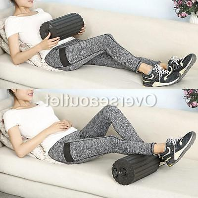 Electric Gym Fitness Vibrating Roller Body Muscle Pain