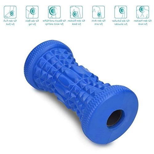 Navaris Roller Muscle Pain Relief Massager Fasciitis Pain Ache Tension Tightness in Fascia Foot Arch