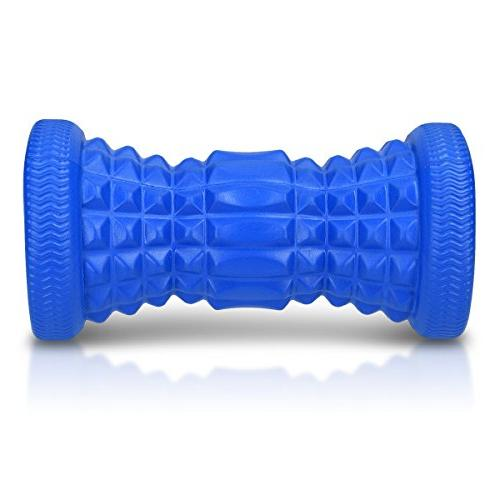 Navaris Foam Roller - Muscle Relief Fasciitis Soothe Muscle Pain Ache Tightness Arch