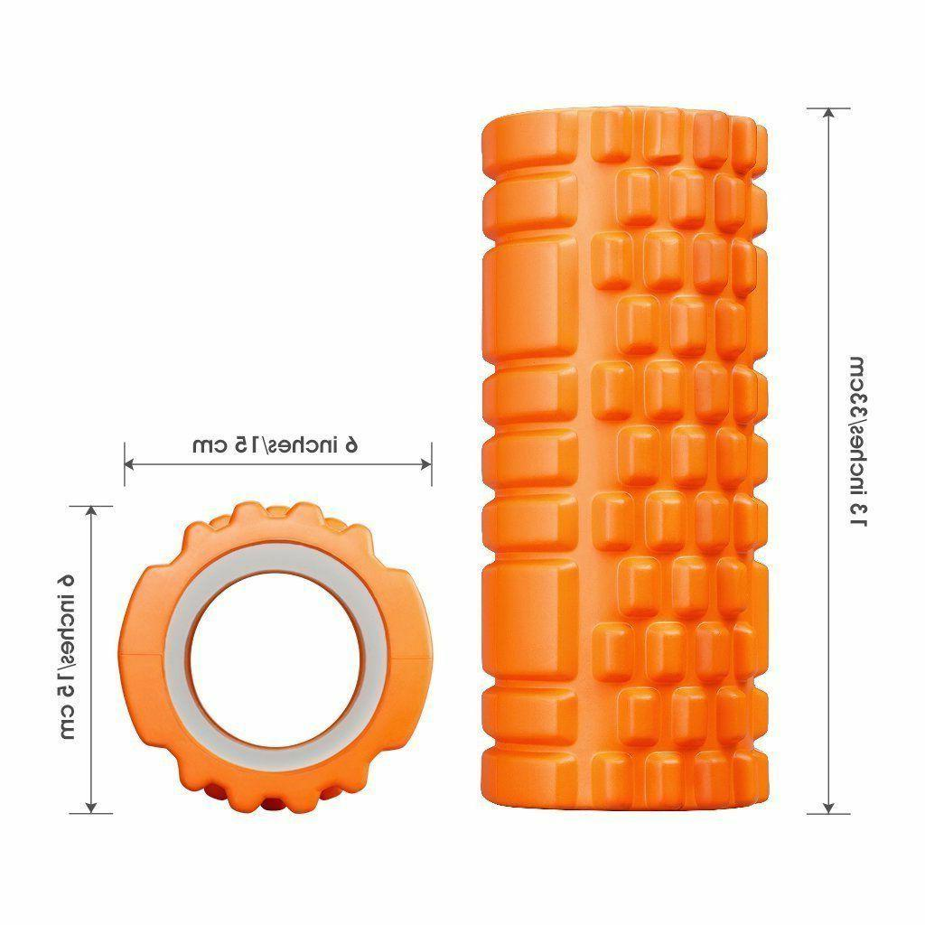 ENKEEO Foam x Grid Design Rollers for