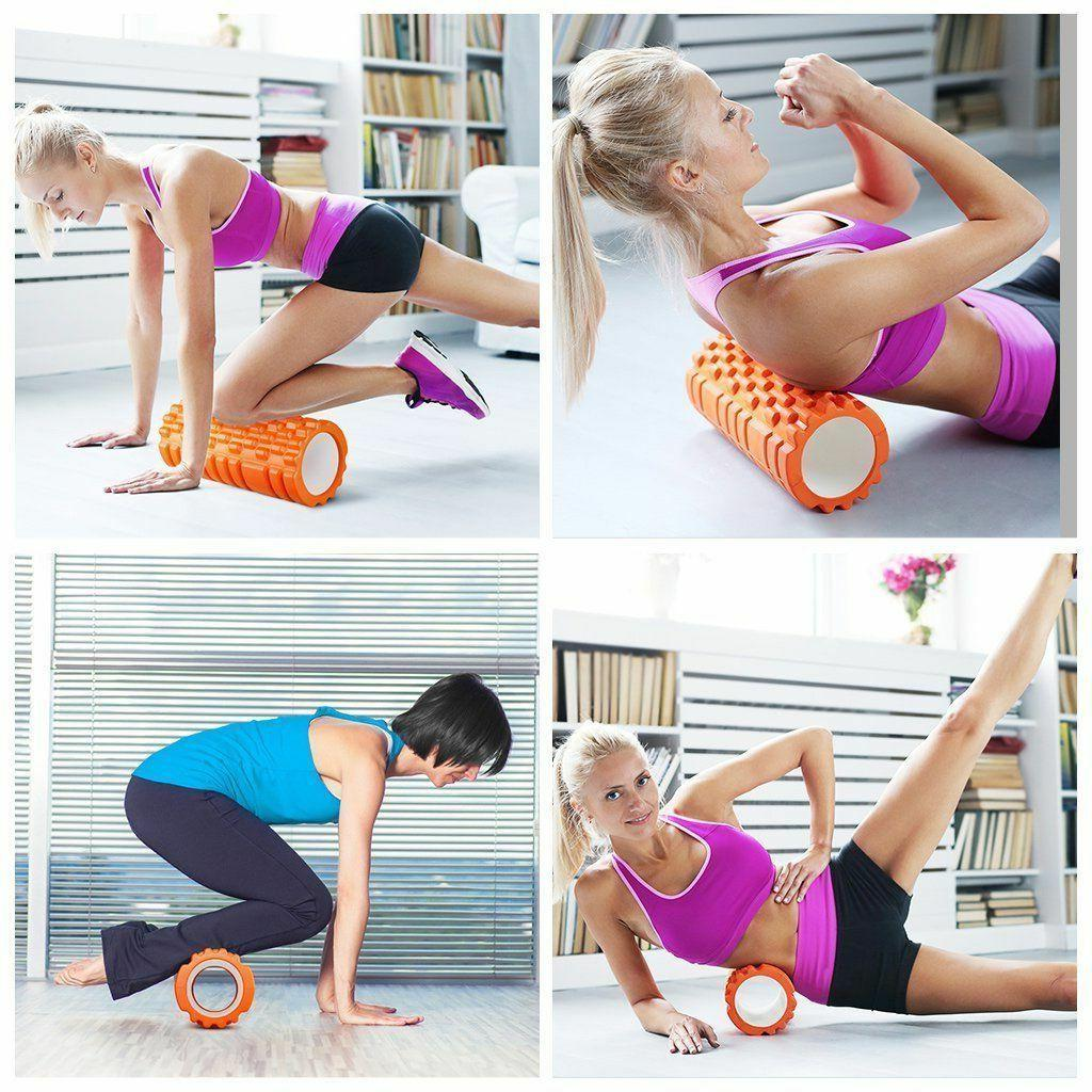 ENKEEO Foam Roller x Grid Design Rollers for Tissue