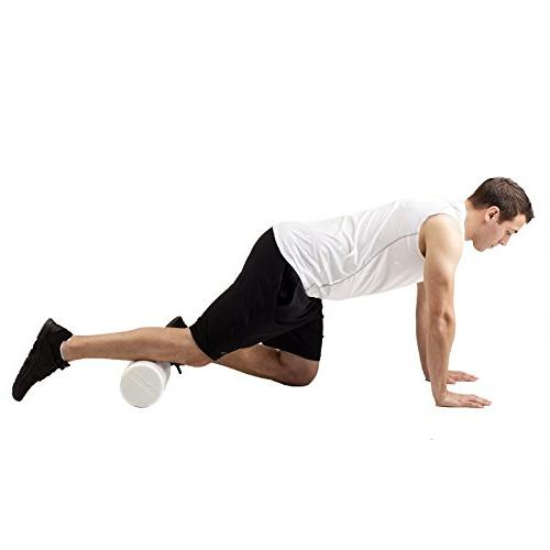TheraBand Roller, Long Foam Post-Workout Recovery & Warm-Up, Out Soreness, Diameter,