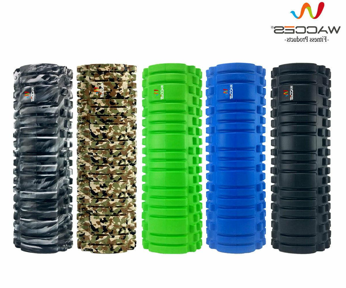 foam roller deep muscle tissue massage fitness