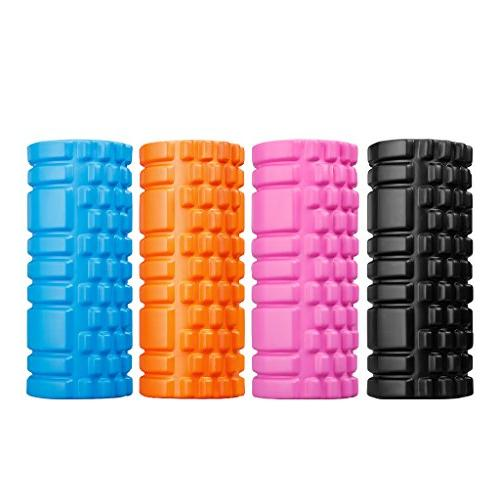 "ENKEEO Foam 13"" x 6"" EVA Grid Muscle for Deep Myofascial Release, Recovery, Point Therapy, Pilates"