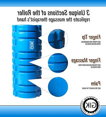 Foam Roller Back Pain Muscle Massage Legs Physical Therapy Gym