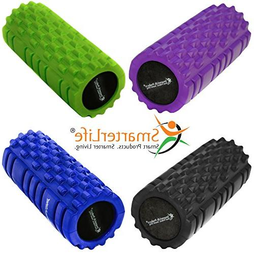 Foam Trigger SmarterLife - for Sore Muscles, and Post Workout, Recovery, Pilates, and