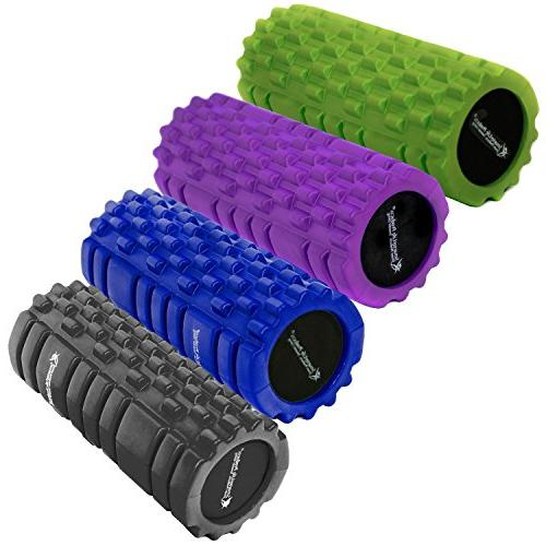 Foam Roller Massager for Trigger Therapy SmarterLife for Pre Recovery, and