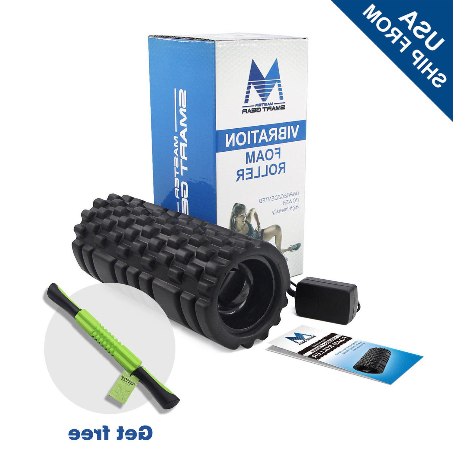 foam roller trigger point yoga vibrating rechargeable