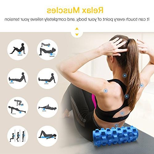Wsky Foam Tissue EVA Roller Physical Therapy and Exercise