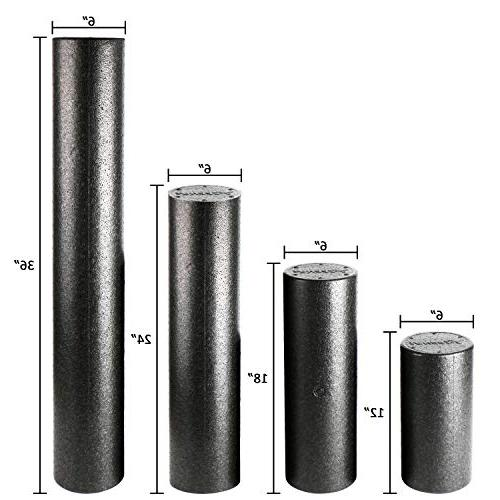 REEHUT Foam Firm Density Rollers with E-Book