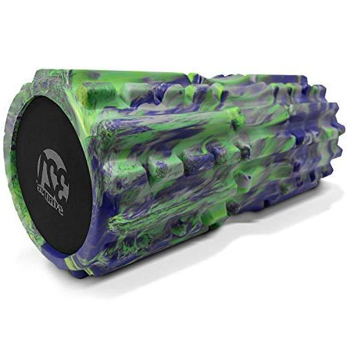 321 STRONG Foam - Extra Density with Spinal Channel, Muscle Massage and Trigger Point 4K - Pacific