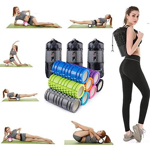 "Muscle Massage-13"" EVA, Tissue, Myofascial Release, Physical for Pain Relief, Exercise, Yoga,"