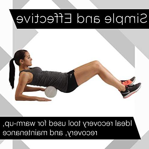 """TheraBand Foam Long High Density Foam Roller for Post-Workout & Warm-Up, Roll Soreness, 6"""""""