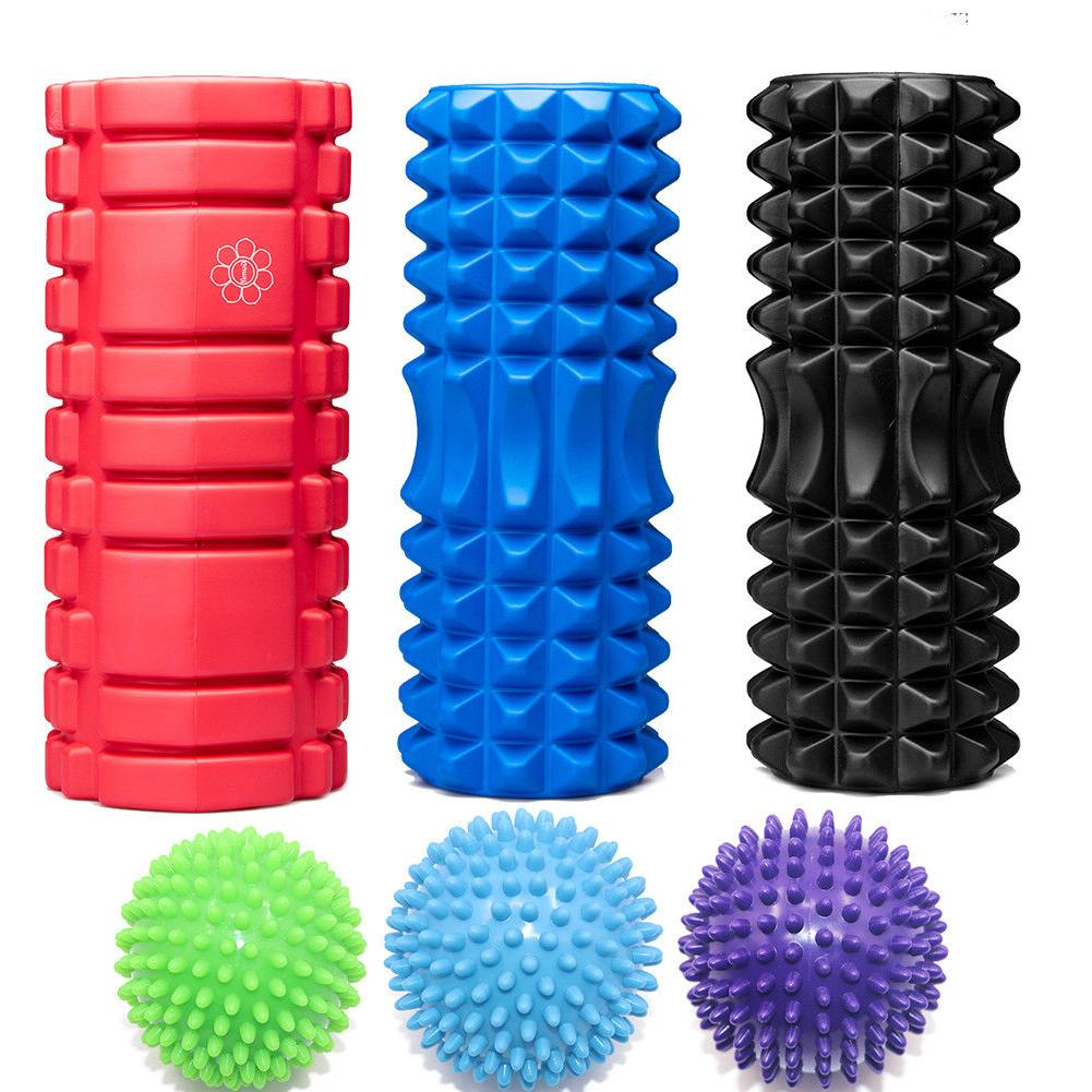 foam roller yoga column pilates massage ball