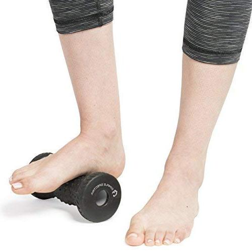 Foot Massager & Spiky - Muscle Relief Plantar for Trigger Point Acupressure with eBook Guide