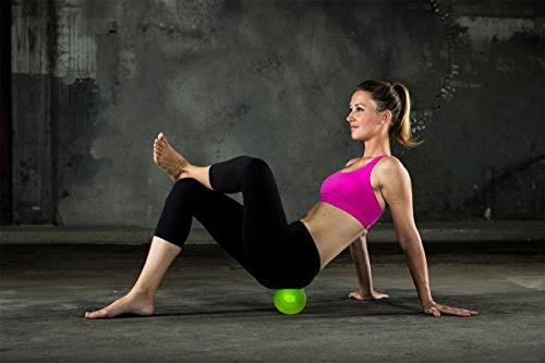 5 Mobility & Deep Tissue Massage Ball High Density Foam Roller Ball Back and Point Rehabilitation, Knots Eco Friendly