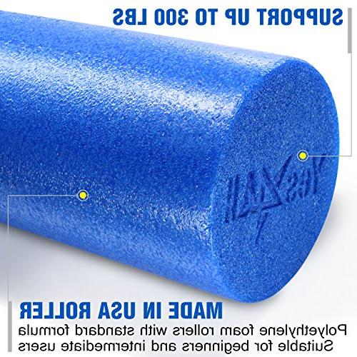 Yes4All Best for Bands and Hamstrings Roller, Blue