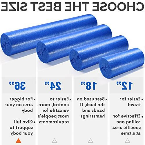 Yes4All Roller/High Foam Best Back/IT and Exercise Roller,