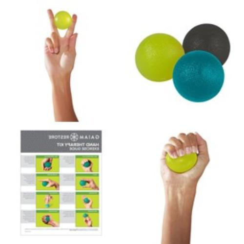 restore hand therapy exercise ball