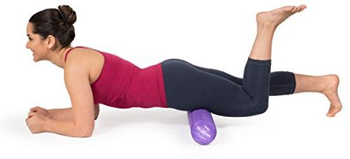 """OPTP PRO-Roller 36"""" 4"""" Foam for Massage, Stretching, Yoga and Pilates Exercise - Density"""