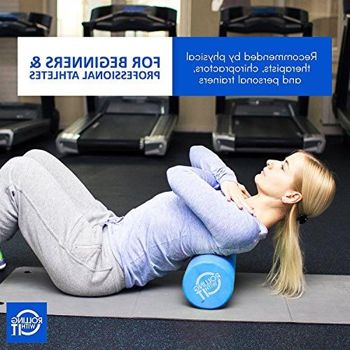 36 Length 6 The Foam Roller Best Firm High Eco-Friendly EVA for Therapy, Therapy, Mobility & Flexibility
