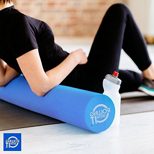 36 6 The Foam Roller Best High Eco-Friendly EVA Rollers for Therapy, Great Back for Muscle Therapy,