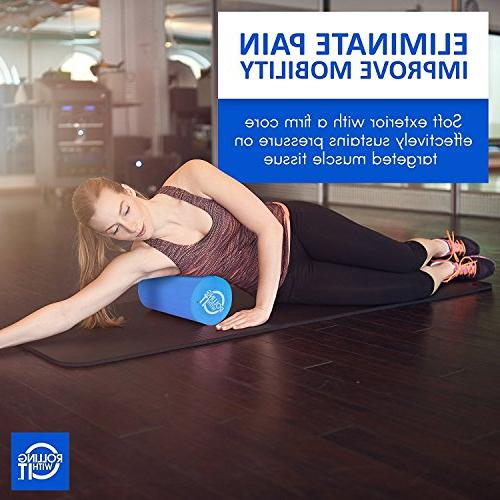 36 x 6 The Foam Roller Best Firm Eco-Friendly Foam Rollers for Physical Therapy, Back Therapy, &