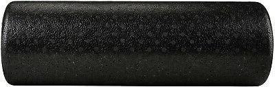 Round Exercise Therapy Roller 18 Inches, Black