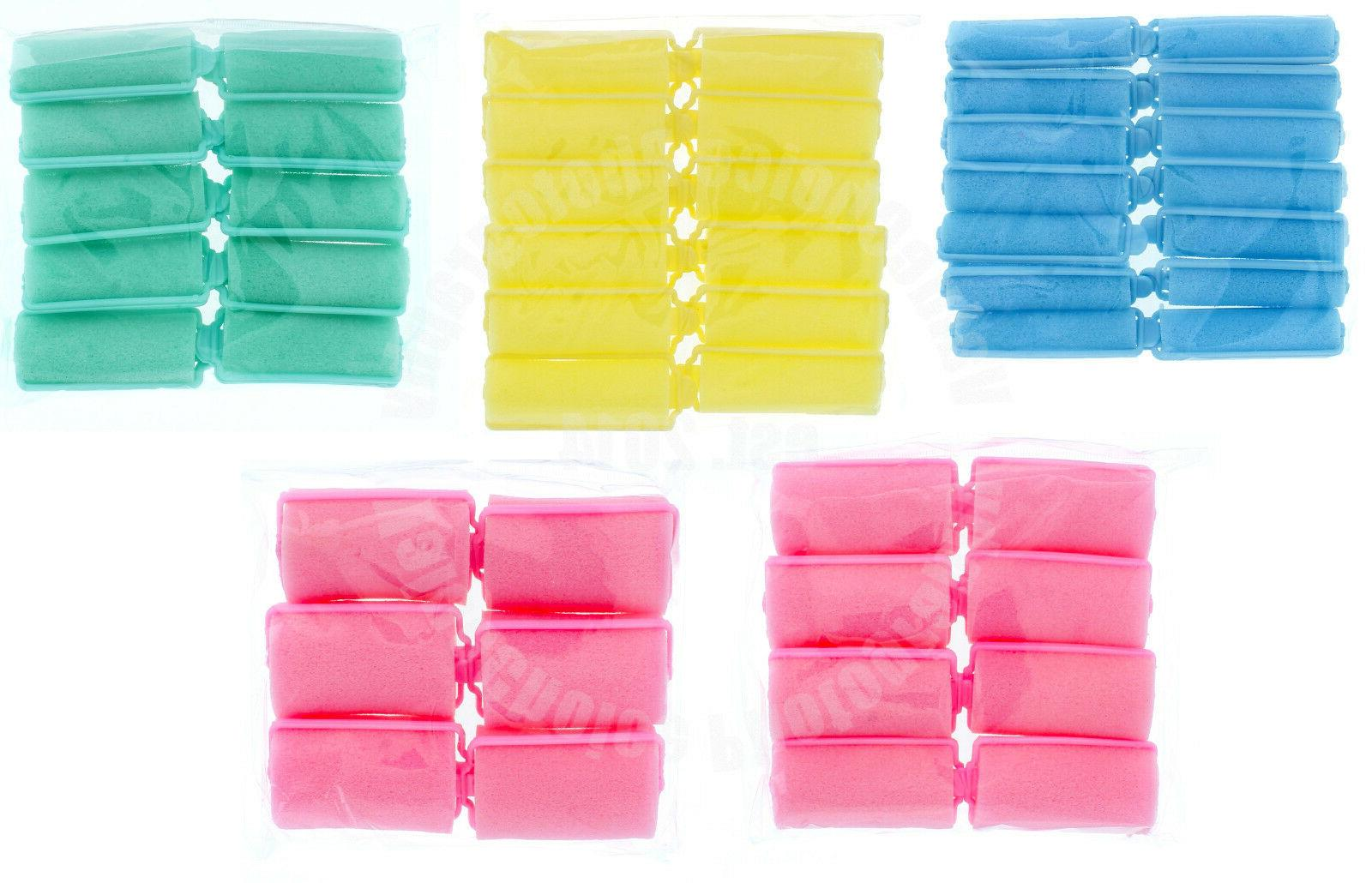 SOFT HAIR ROLLERS,CURLERS SIZES,