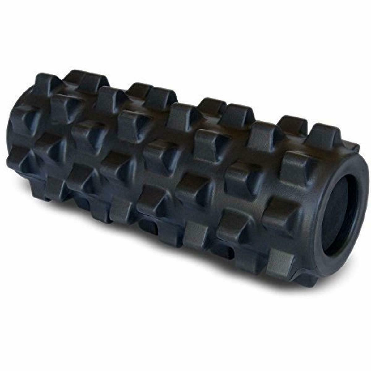 textured muscle foam roller manipulates soft tissue