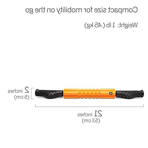 TriggerPoint Performance Handheld Foam Roller, 21 Inch, Regular