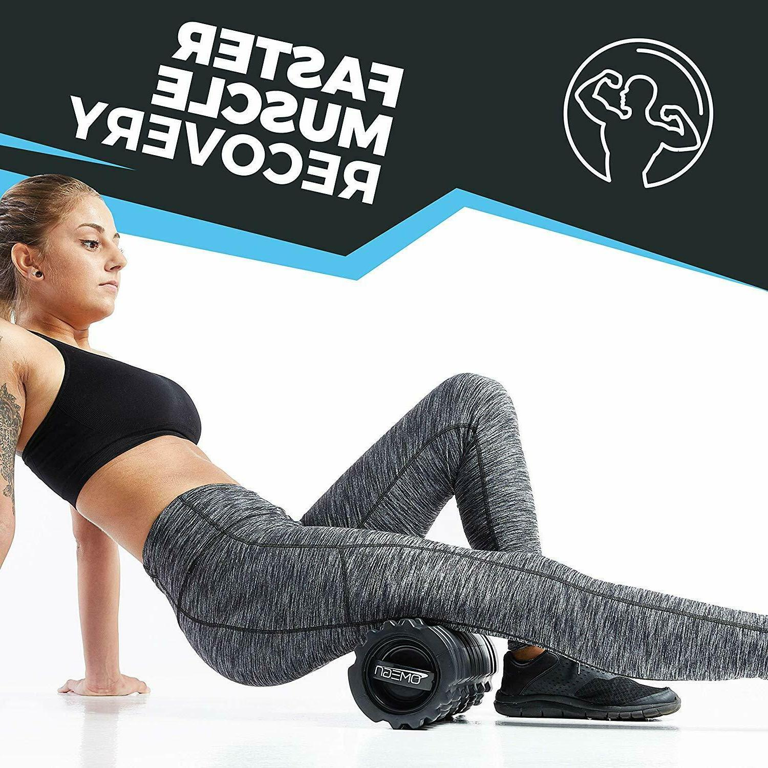 Vibrating Foam - Electric Tissue Massage, Post Workout Recovery