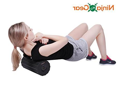 """Ninja New""""2018"""" Vibrating Foam Rechargeable Vibration Fast Muscle Trigger Deep Tissue Physical Electric"""